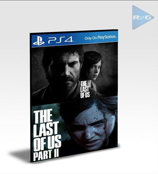 The Last Of Us Part 1 E 2 Ps4 - Português - Envio Agora