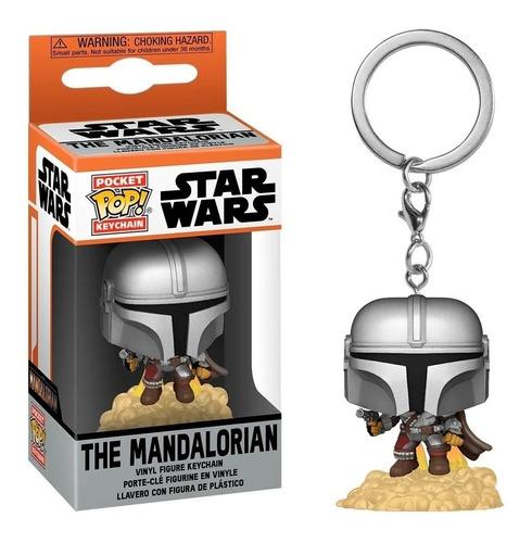 Imagem 1 de 4 de Chaveiro Funko Pop The Mandalorian Star Wars