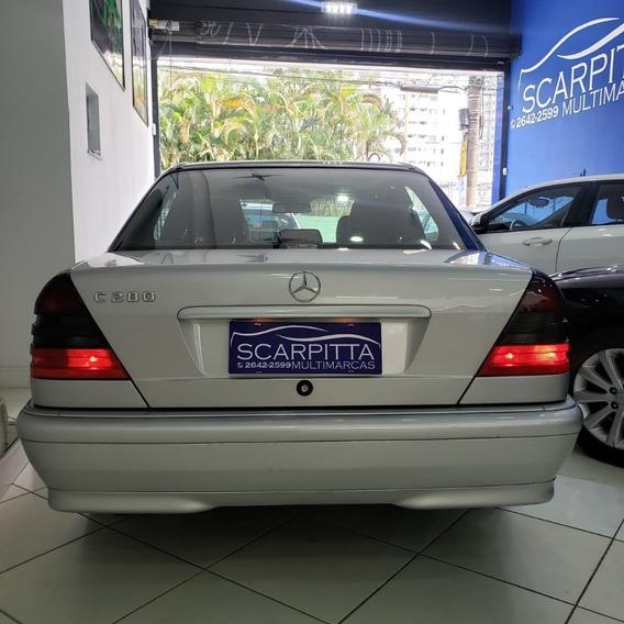 Mercedes Benz C280 Sport 1998 2.8 V6 - Top De Linha