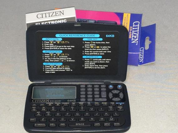 Agenda Eletrônica Citizen Ed - 6.500 64 Kb
