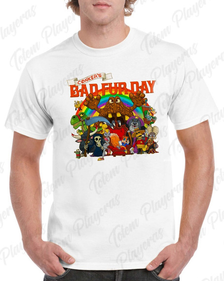 Playera Conker Have A Bad Fur Day