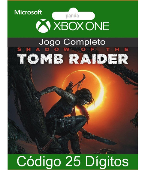 Shadow Of The Tomb Raider Codigo 25 Digitos Sem Juros