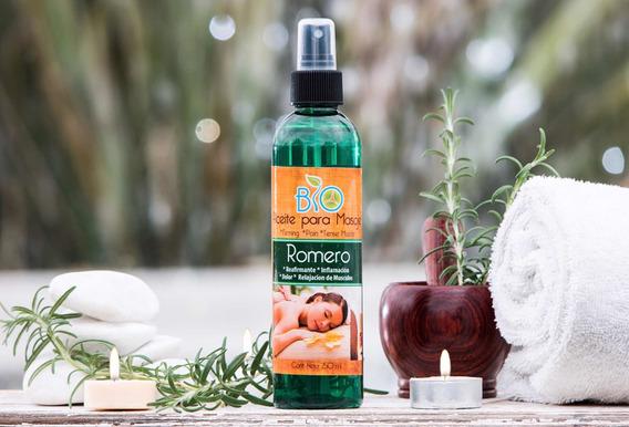 Aceite De Romero Para Masaje 250 Ml
