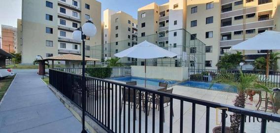 Apartamento Com 3 Dormitórios À Venda, 60 M² Por R$ 160.000,00 - Jabutiana - São Cristóvão/se - Ap1018