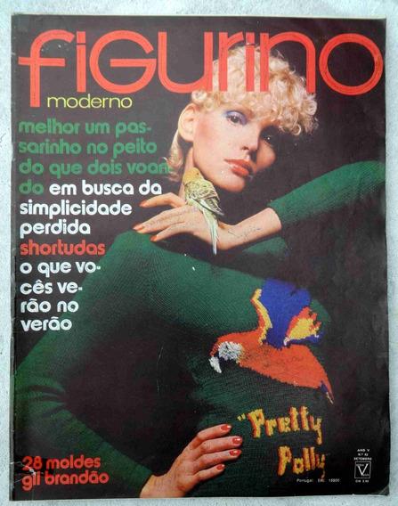 Figurino Moderno Nº 62 - Inclui 28 Moldes Gil Brandão 1971