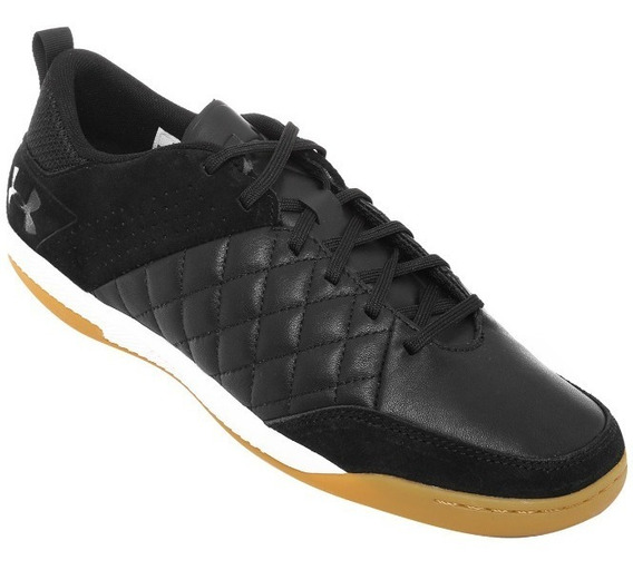 Chuteira Futsal Under Armour Command Couro