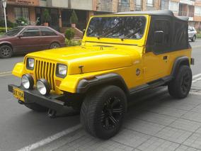 Jeep Wrangler 1988, Perfecto, Permuto Automovil Desde 2010
