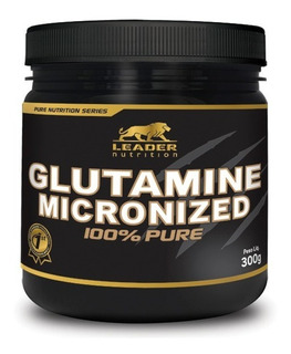 Glutamine Micronized 300g Leader + 2 Bcaa Midway 300g Pó