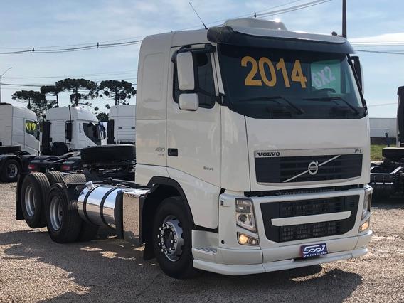 Volvo Fh 460 6x2 Ano 2014 Trucado Teto Baixo