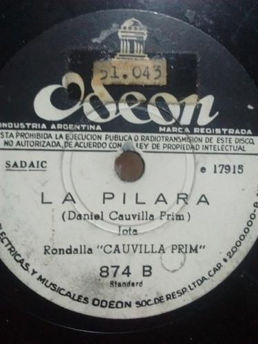 Cauvilla Prim Disco Pasta Odeon 874 C69