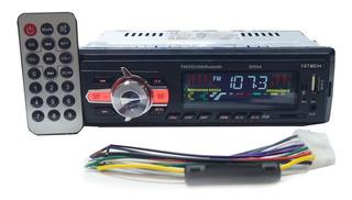 Som Radio Bluetooth Usb Mp3 Pen Drive Memoria Celular 50w