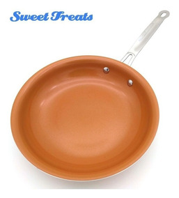 Combo 2 Frigideiras Revest Cerâmica Sweettreats 25 Cm 10 Pol