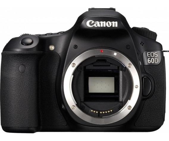 Canon 60d Usada (somente Corpo)+nota Fiscal