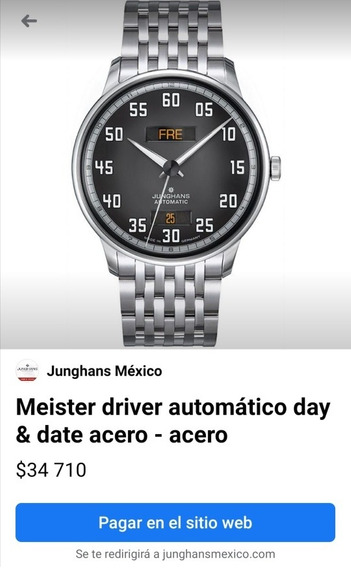 Reloj Junghans Meister Driver Day-date