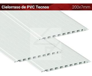 Cielorraso Pvc 200x10mm - Machimbre Plastico