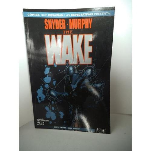 Comic The Wake Vertigo Televisa