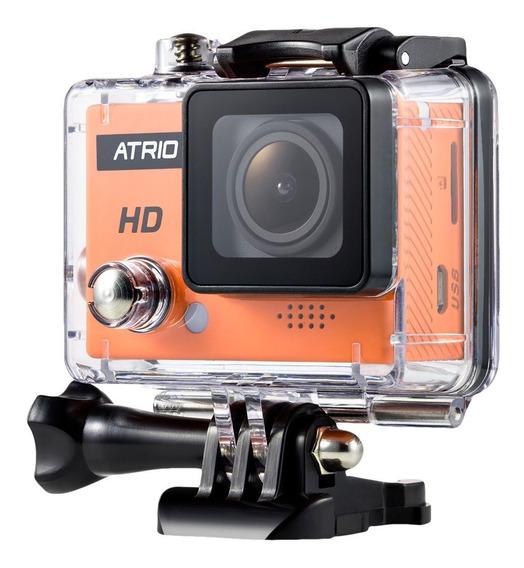 Câmeras De Ação Atrio + Cartão De Memoria 32 Gb