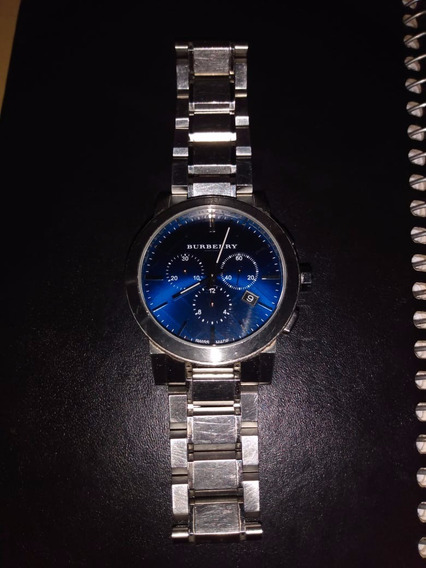 Burberry Chronograph Blue Dial - Swiss Made Sapphire Crystal