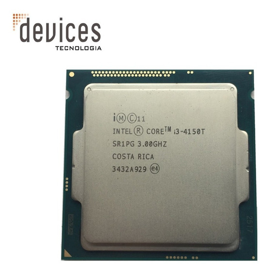 Processador Intel Core I3 - 4150t Sr1pg 3.00ghz - Usado