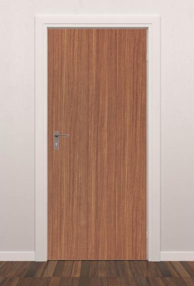 Adesivo Parede Decorativo Porta Estampa Madeira M02 Quarto