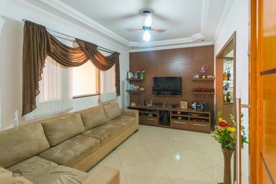 Casa Com 3 Dormitórios À Venda, 135 M² Por R$ 350.000 - Jardim Boer I - Americana/sp - Ca4485
