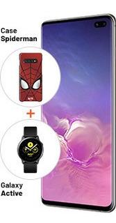 Pack Spiderman Galaxy S10 Plus Prism Black-equipo Libre-el