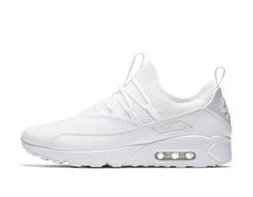 Tênis Nike Air Max 90 Ez - Todo Branco Frete Grátis + Brinde