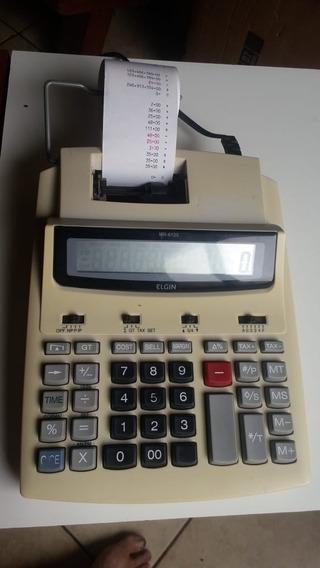 Calculadora De Mesa Com Impressora Elgin Mr-6125