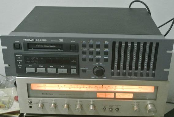 Tape Deck Profissional Tascam Da-78hr - Quase Novo Manual