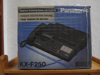 Fax Panasonic Modelo Kx-f250 Contestadora Memoria 100 Nums
