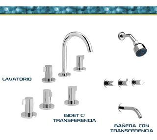 Griferia Hydros Combo Avant Bañera Bidet Lavatorio Exclusivo