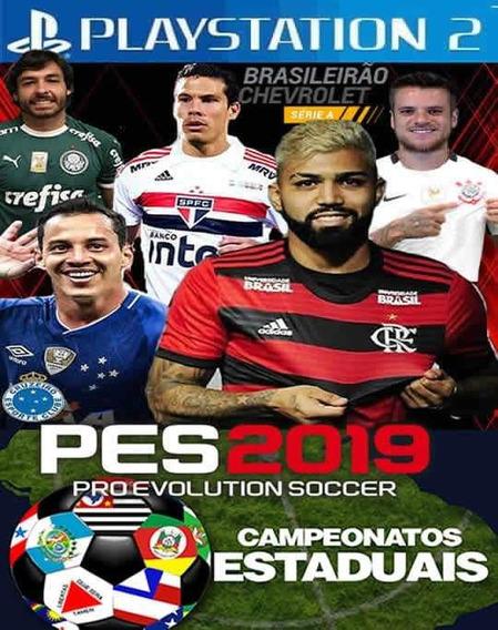 Pes 2019 Estaduais ,jogos Ps2,atual Lançamento ( Março )