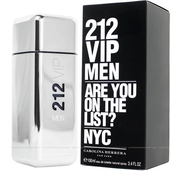 Perfume Carolina Herrera 212 Vip Masculino 100ml Edt