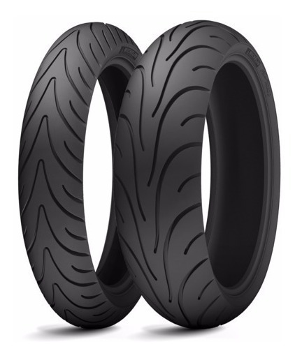 Par Pneu 120/70-17 + 180/55-17 Michelin Pilot Road 2 Radial