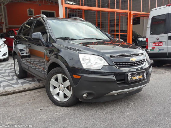 Chevrolet Captiva 2.4 16v (aut) 2012 + Couro + Multimidia