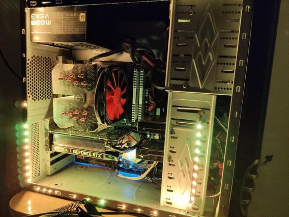 Computador Gamer Trabalho Ryzen 2600x Rtx 2060 Ssd Rgb