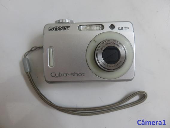 Câmera Sony Cyber-shot Dsc-s500 Com Defeito