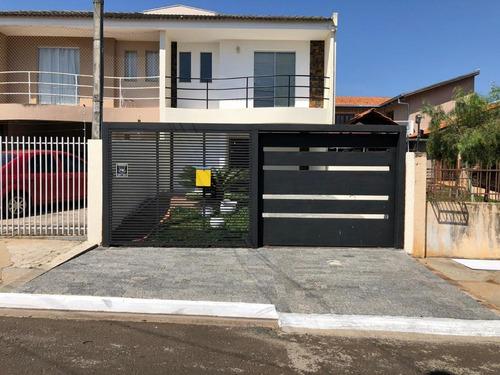 Sobrado Com 4 Dormitórios À Venda, 175 M² Por R$ 399.000,00 - Neves - Ponta Grossa/pr - So0202
