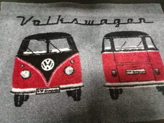 Tapete Decorativo Vw Vintage