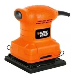 Lijadora De Palma Black And Decker De ¼ 200 Watts