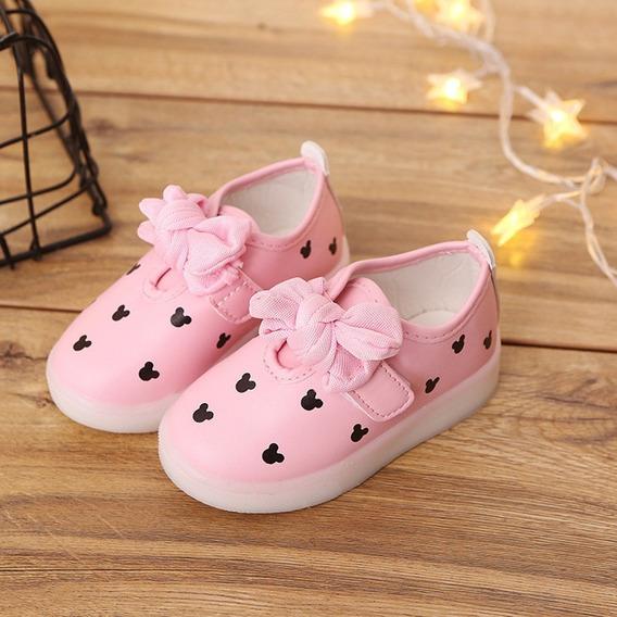 Los Niños De Led Se Encienden Zapatos De Las Muchachas Bowb