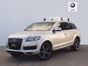 Audi Q7 3.0 Luxury V6 T At Mensualidades Desde $9,770!!