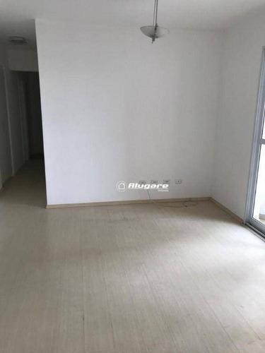 Apartamento Com 3 Dormitórios À Venda, 98 M² Por R$ 649.000 - Jardim Zaira - Guarulhos/sp - Ap3659