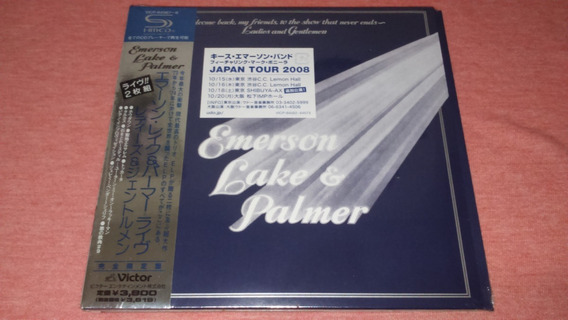 Emerson Lake Palmer - Welcome Back,.. Mini Lp Japan 2cd Shm