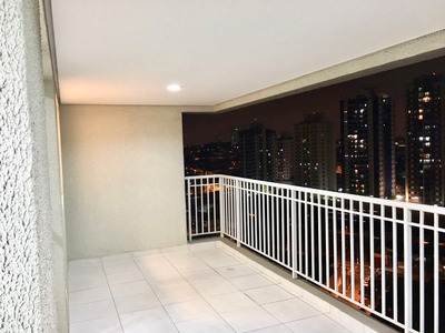 Apartamento Tatuapé - Varanda Gourmet - 91m²