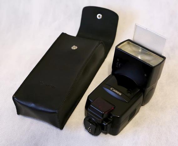 Flash Canon Speedlite 540ez Câmera Analógica Ler Descrição
