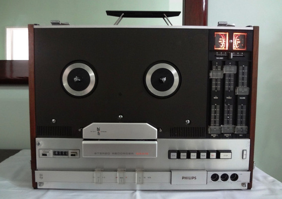 Tape Deck Rolo Philips N4416a