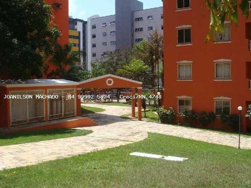 Imagem 1 de 15 de Apartamento Para Venda Em Natal, Lagoa Nova - Villagio De Roma, 3 Dormitórios, 1 Banheiro, 1 Vaga - Ap1550-vi_2-1093557