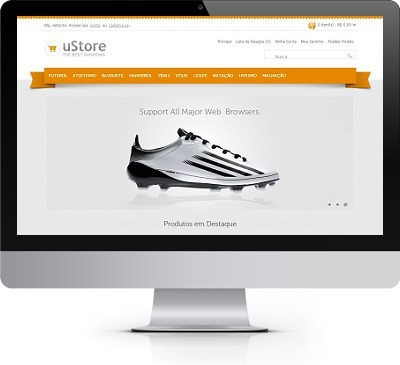 Loja Virtual De Tenis Script Open Cart