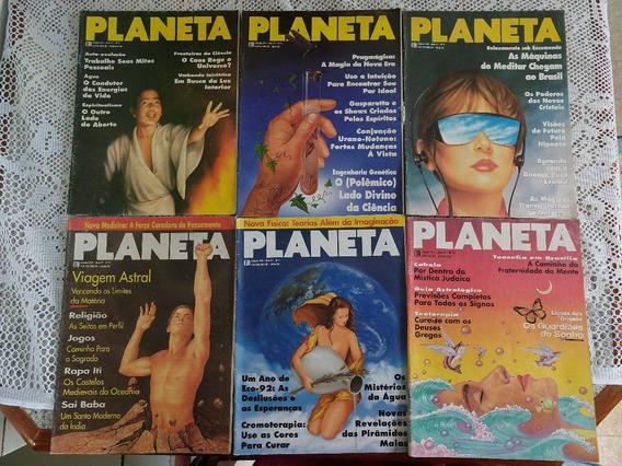 Lote Revistas Planeta - 15 Edições - Anos 93/94/95 - Raras